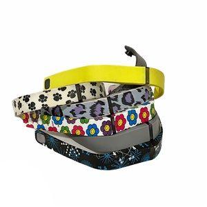 Fitbit flex bundle of six pattern wristbands S